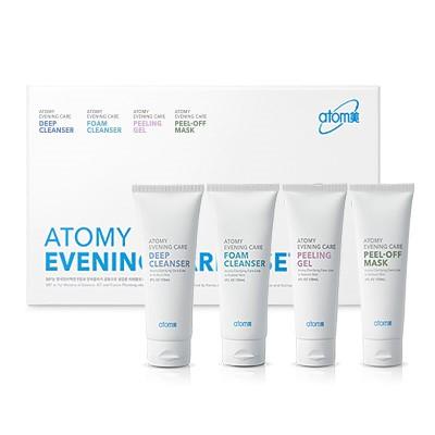 Comment nettoyer la peau en profondeur avec le kit Evening Care d'Atomy?